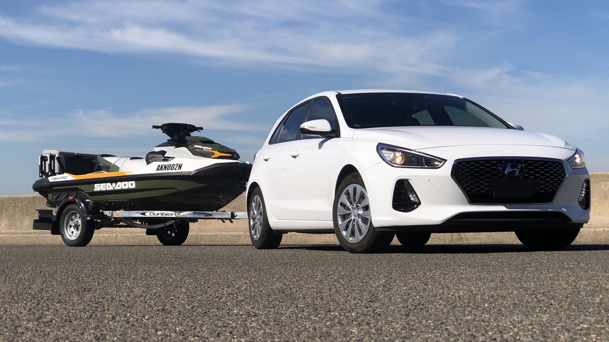 Which cars can tow a Jet Ski or personal watercraft?