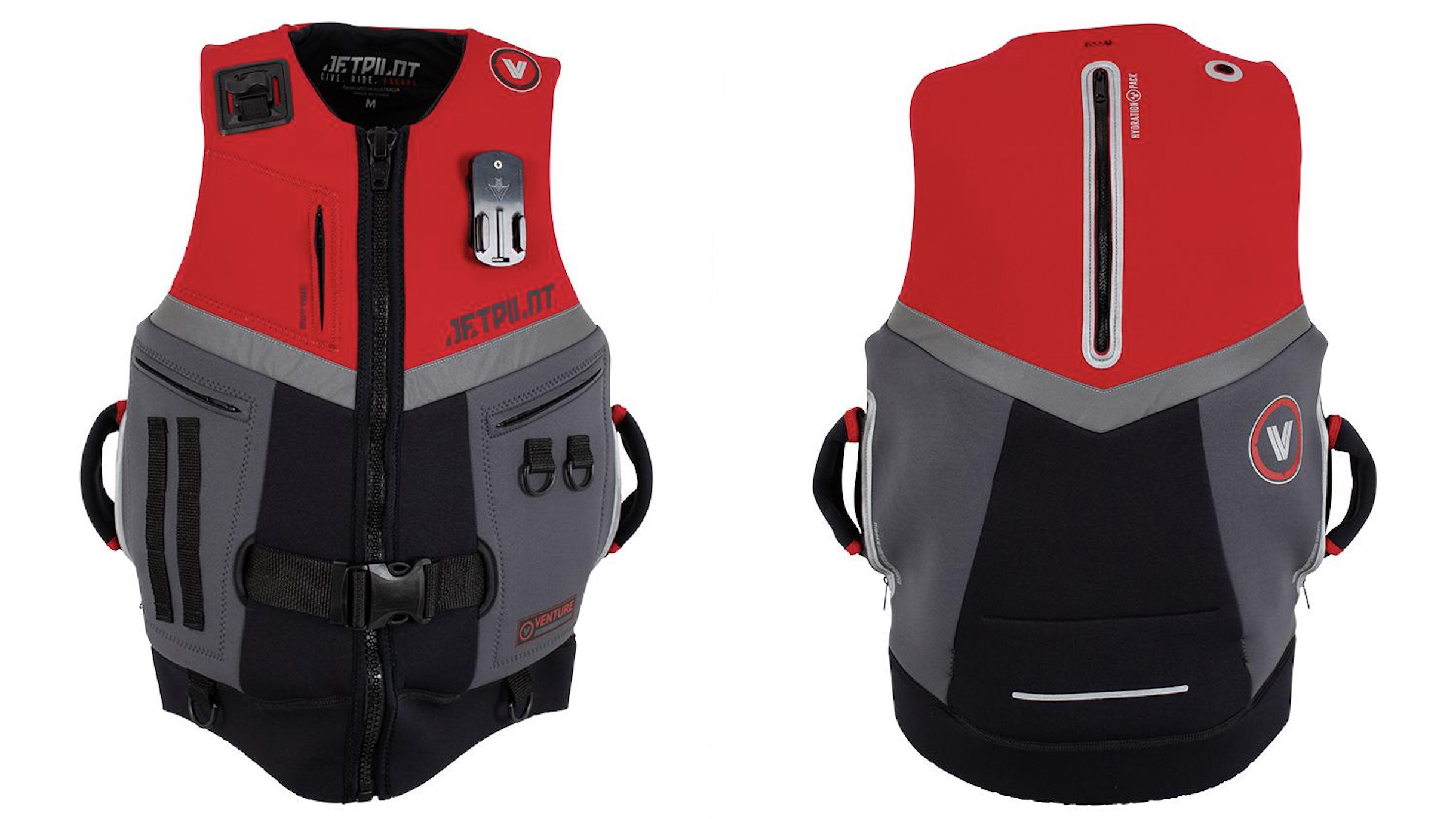 New for 2021: Jet Ski and personal watercraft vest with built-in hydration pack