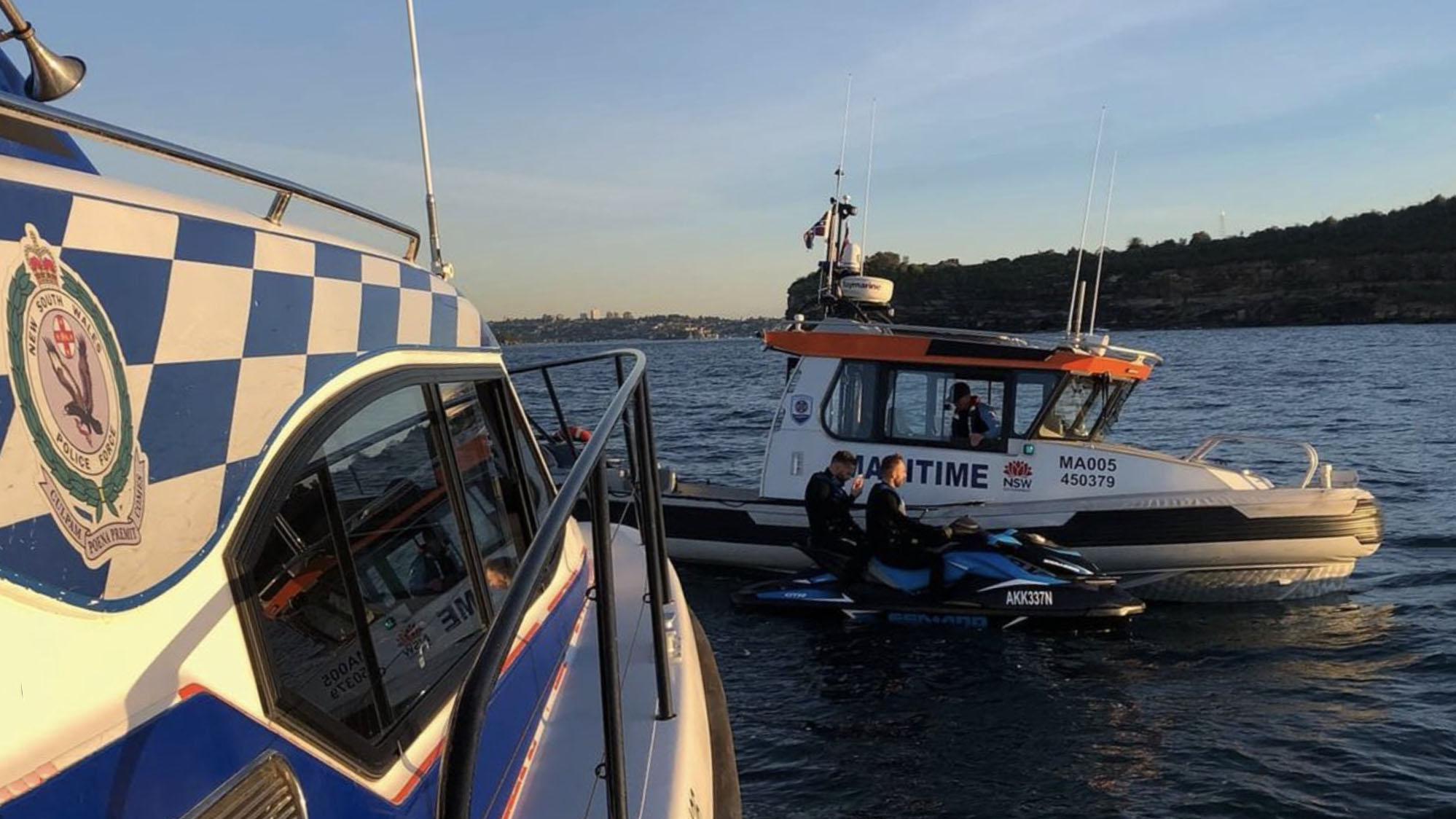 Jet Ski riders caught on Sydney Harbour 20 years after ban was introduced