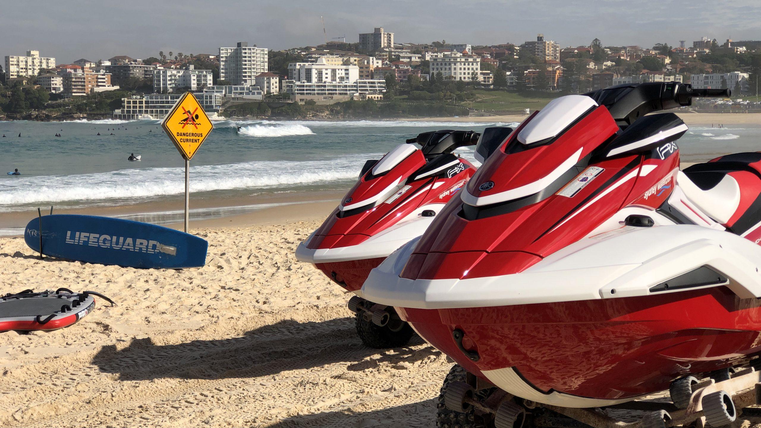 Bondi Rescue lifeguards take delivery of 2021 Yamaha FX HO WaveRunners