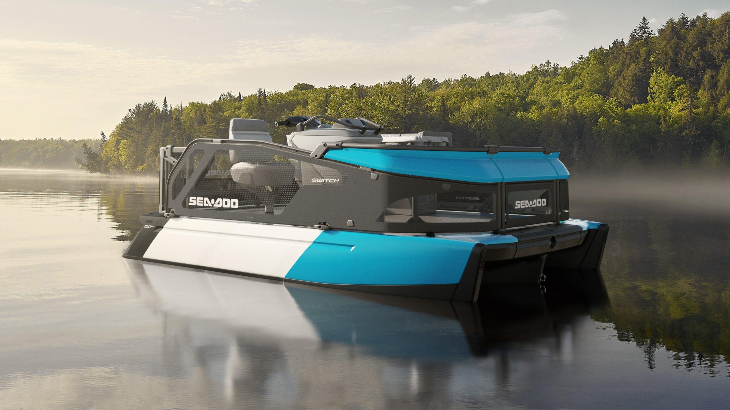 Jet Ski-powered Sea-Doo Switch pontoon on wish list for Australia