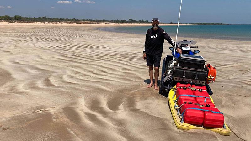 First solo Jet Ski ride around Australia crosses the finish line